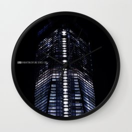 Manhattan Skyline Series 006 Wall Clock