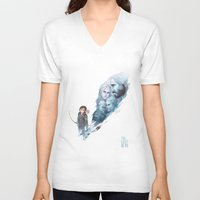 the last of us V-neck T-shirts featuring Last of Us by Stephanie Kao