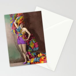 Feathers: Vintage Darlings Stationery Cards