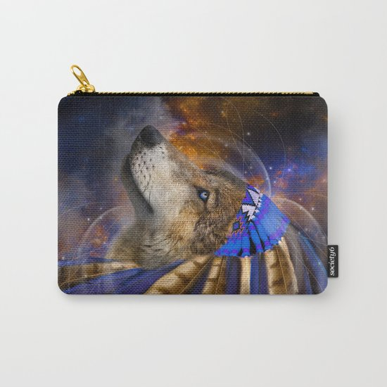 Fight For What You Love (Chief of Dreams: Wolf) Tribe Series Carry-All Pouch