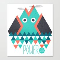 power Canvas Prints featuring Power by Studio Axel Pfaender