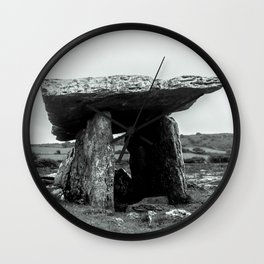 The Poulnabrone Dolmen - Ireland Wall Clock
