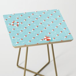 Pills Pattern 012 Side Table
