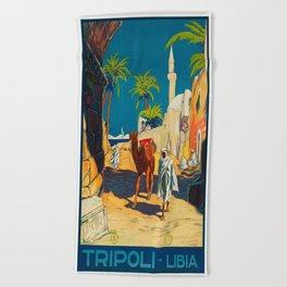 Libya Beach Towels Society6