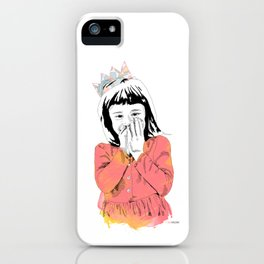 The Invisible Crown iPhone Case