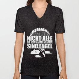 paratrooper Falli soldier german army shirt Unisex V-Neck