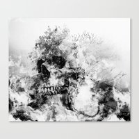 silent hill Canvas Prints featuring Silent Hill by RIZA PEKER