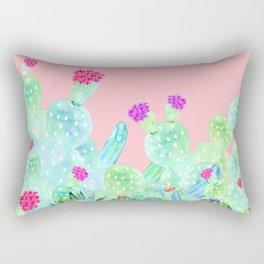 Cacti Garden Rectangular Pillow
