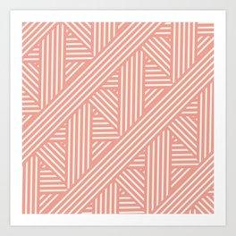 Candy Striper  Art Print