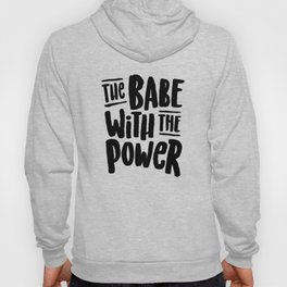 Labyrinth // The babe with the power Hoody