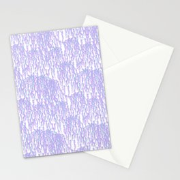 Cascading Wisteria in Lilac + White Stationery Cards