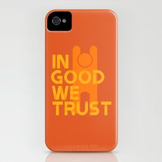 Trust in Good - Version 1 iPhone (4, 4s) Slim Case