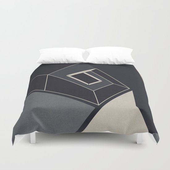 Abstract #86 Duvet Cover