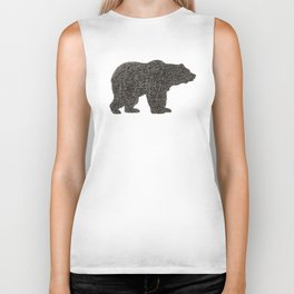 Grizzly Bear Biker Tank