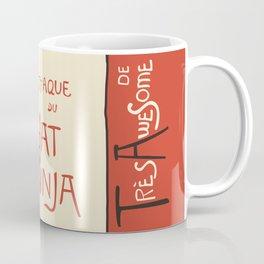 A French Ninja Cat (Le Chat Ninja) Coffee Mug