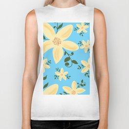 Springy Flowers Biker Tank