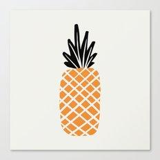 Single Pineapple Canvas Print