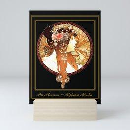Art Nouveau Cameo No. 1 Mini Art Print