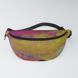 Spring Sky over Mourne Mountains Fanny Pack