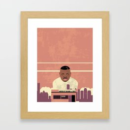 DJ Screw Framed Art Print