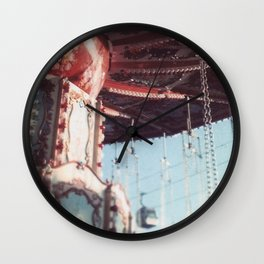 The State Fair Swing (An Instagram Series) Wall Clock