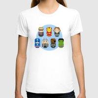 avenger T-shirts featuring Pixel Art - Avenger parody by Cloudsfactory