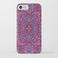 kaleidoscope iPhone & iPod Cases featuring Kaleidoscope by David Zydd