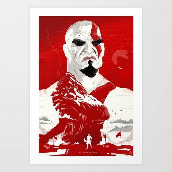 God Of War - Vengeance Is Now Art Print