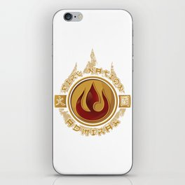 Fire Nation Admiral iPhone Skin