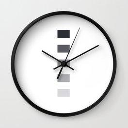 gradient grey Wall Clock