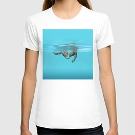Swimming in the pool T-shirt