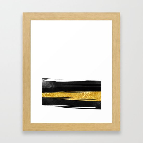 Gold and Black Stripes by cafelab