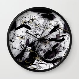 Naquim&Posca Wall Clock