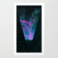Starwaves Art Print