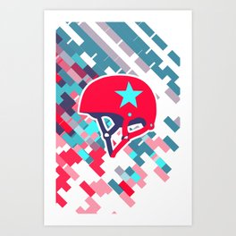 Roller Derby Art Print