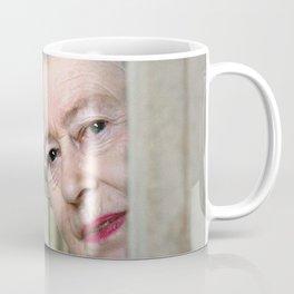 QUEEN ELIZABETH PEEK A BOO Coffee Mug