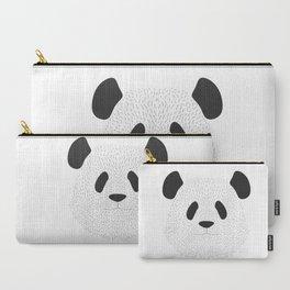 Pandas's face Carry-All Pouch