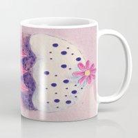 cupcake Mugs featuring Cupcake by Irène Sneddon