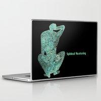 spiritual Laptop & iPad Skins featuring Spiritual Awakening by Margarita Mascaro