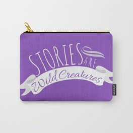 Purple Wild Creatures Carry-All Pouch