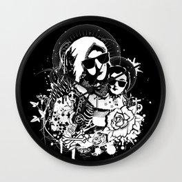 Holy punk family Wall Clock
