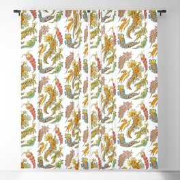 Ernst Haeckel Nudibranch Sea Slugs Blackout Curtain