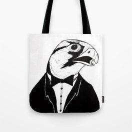 Falcon Tux Tote Bag