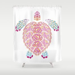 Alebrije Turtle 1 Shower Curtain