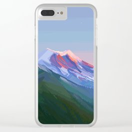 Tahoma (New) Clear iPhone Case