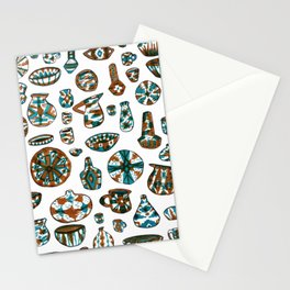 New Mexico Pottery Stationery Cards