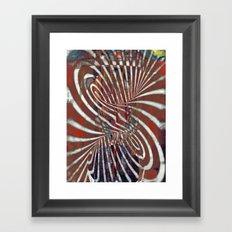 disquiet fourteen (mágoa) Framed Art Print