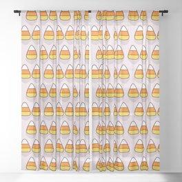Candy Corn Sheer Curtain