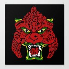 Battle-Cat Canvas Print