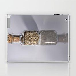 Tiny bottle of beach sand Laptop & iPad Skin